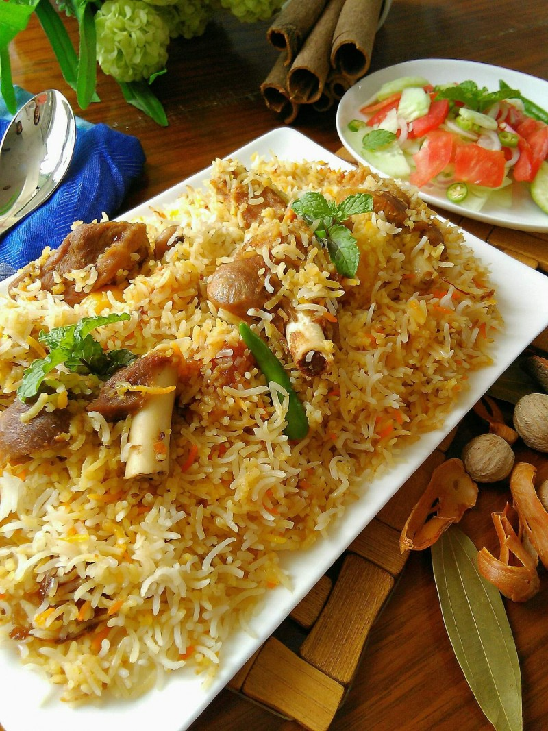 Traditional Mutton biriyani from Papri's Dream