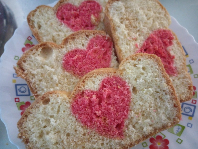 Spacial Heart Cake from Sahiyy Kitchen