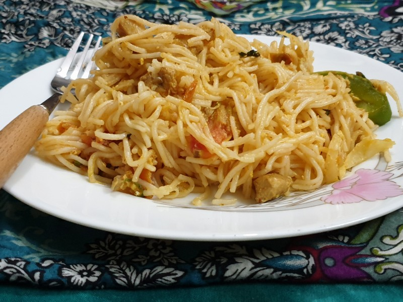 Special noodles from Rosy's Recipe