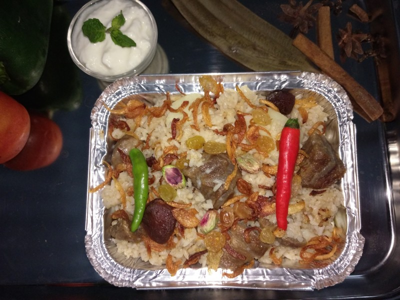 spacial Beef Biriyani from Sahiyy Kitchen