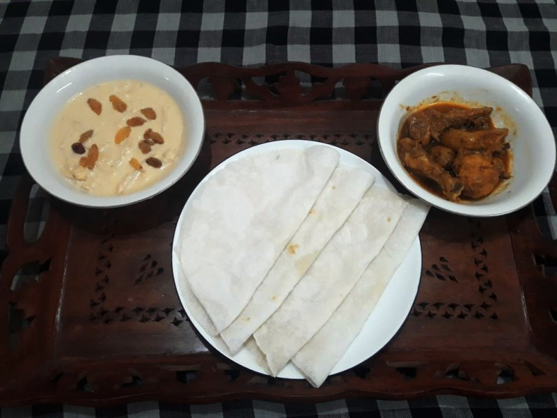 Chaaler Ruti with Chicken Platter from Greatfood Kitchen