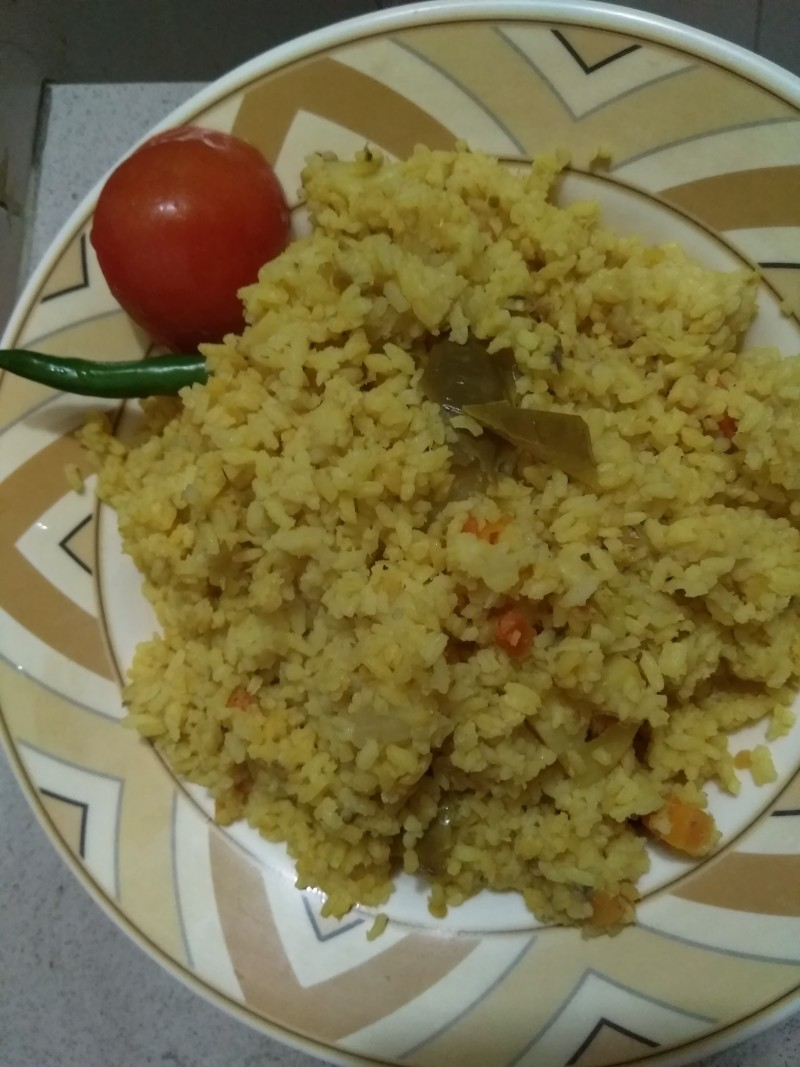 SHOBJI KHICHURI from Kory's Recipe