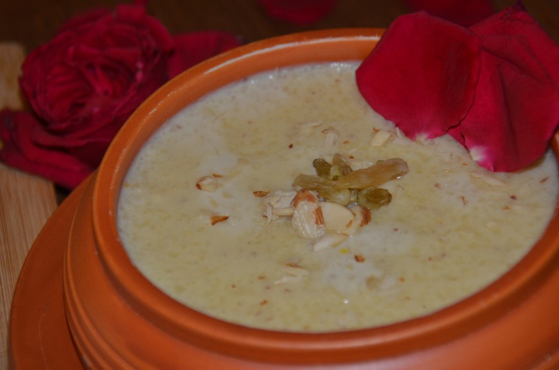 Shahi Firni(Biye Barir taste) from Cookbook by Sadia