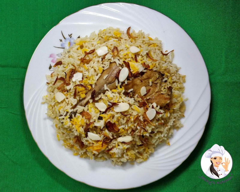 Morog Pulao from Jassy's Kitchen