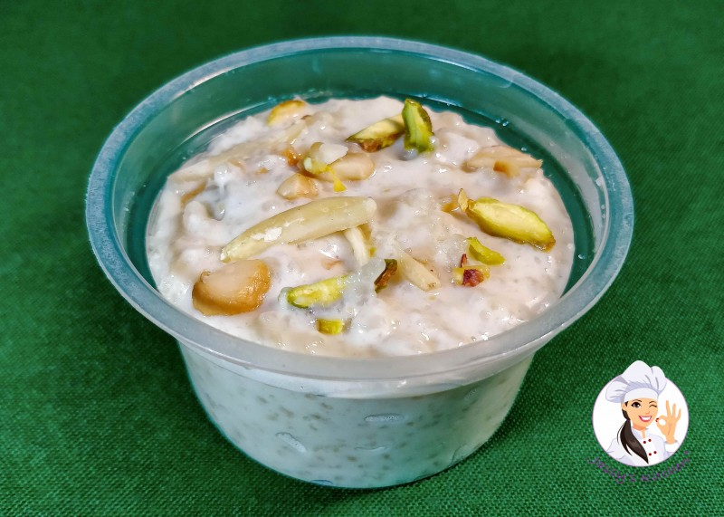 Shahi Firni (Cup) from Jassy's Kitchen