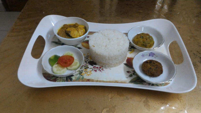 Rui Fish Rice Plater from Hena's Kitchen