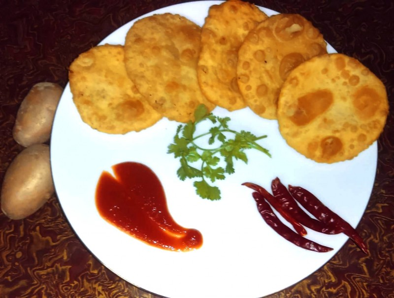 Aloo Puri from Greatfood Kitchen