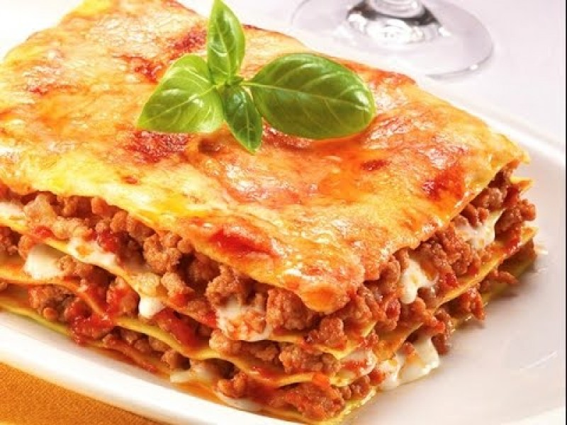 Meat Lasagna Pasta from Hook