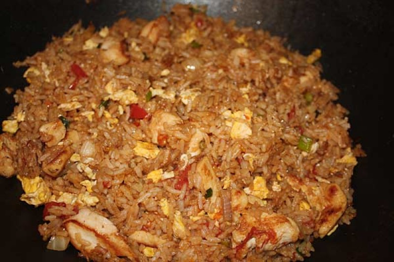 Thai Special Fried Rice from Hook