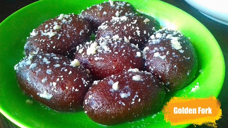 Kalo Jam Mishti (Sweet) from Golden Fork