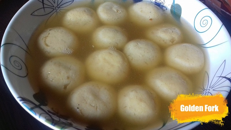 Roshogolla Mishti (Sweet) from Golden Fork