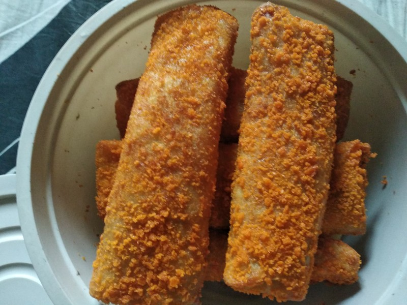 Chicken Vegetable Egg Roll from Mohima's Kitchen
