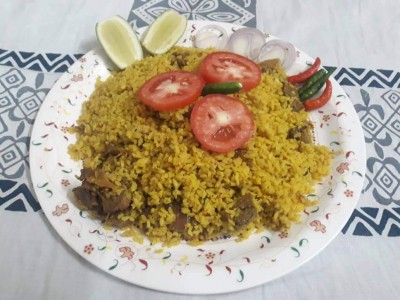 Beef Khichuri with Chop