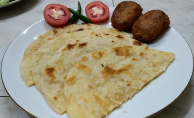 Iftaar special Porota-Chicken kabab from Greatfood Kitchen