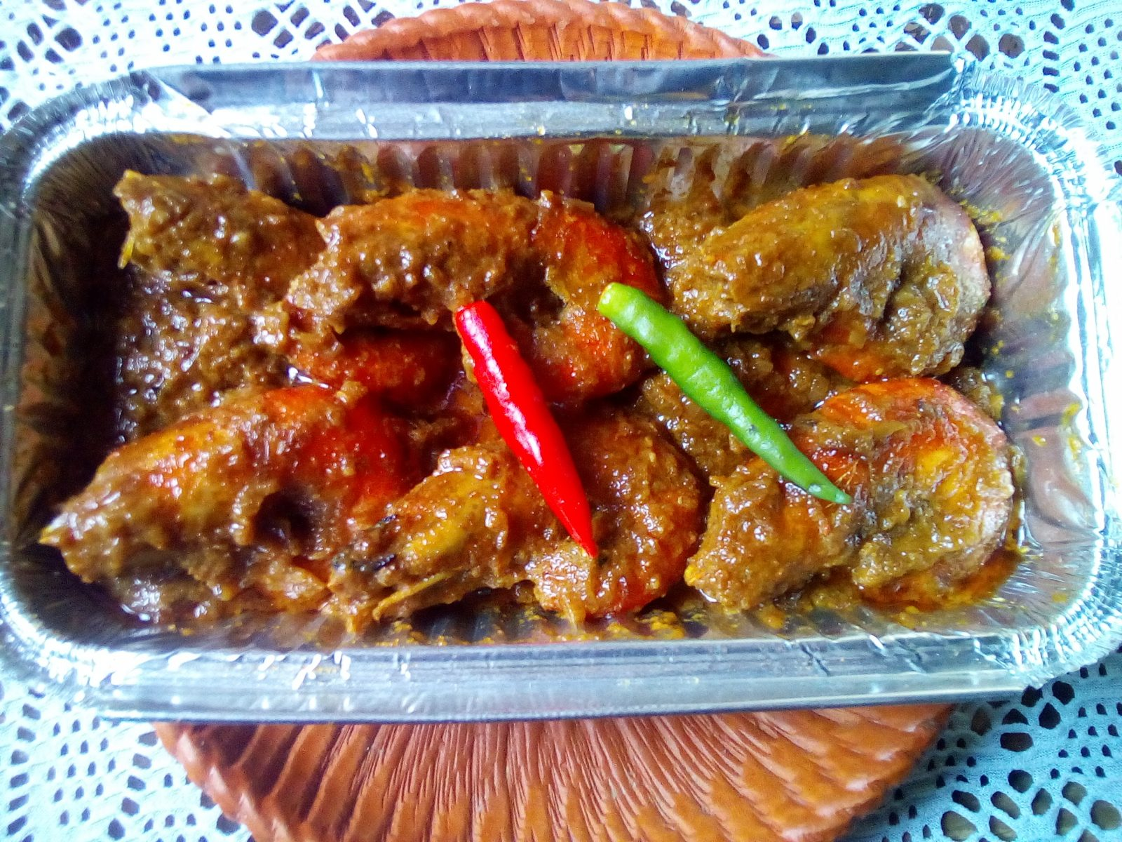 Cingri Vuna (Prawn Curry) from Sompurna Rannaghor