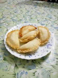 Vaja Puli Pitha from Mom's Dine