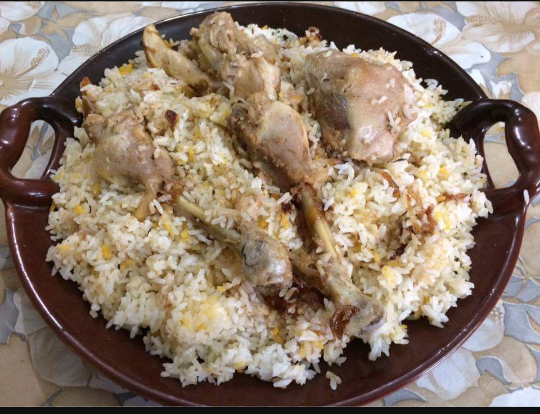Chicken Biriyani (Deshi) from Ghorer Khabar