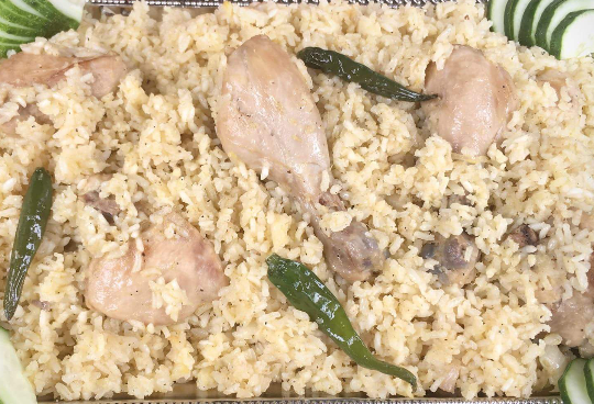 Chicken Biriyani from Ghorer Khabar