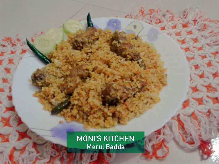 Chicken Biryani from Moni's Kitchen
