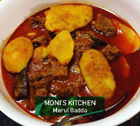 Beef Curry with potato from Moni's Kitchen