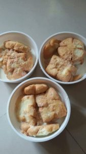 Pakon Pitha (Bhija) from Moni's Kitchen