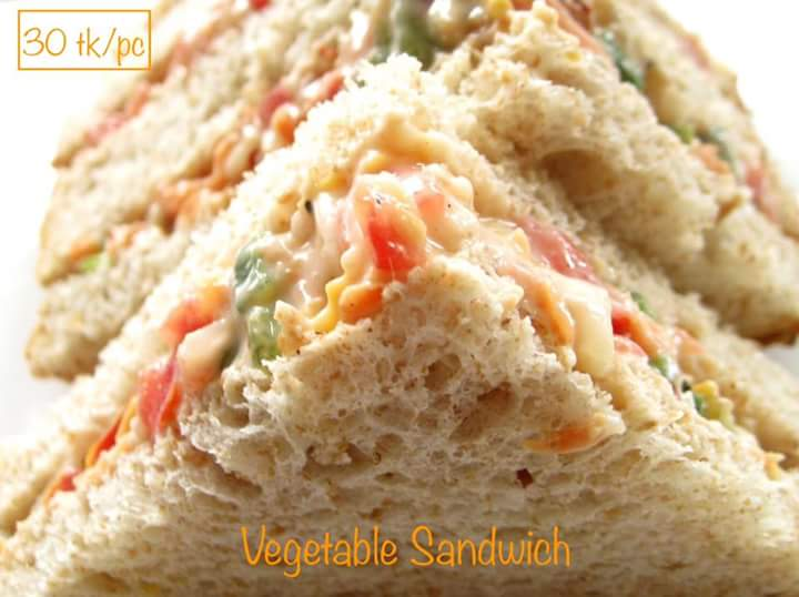 Vegetable Sandwich from Shelley's Kitchen