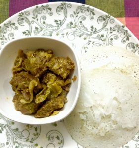 Chhit-ruti with Beef/Chicken