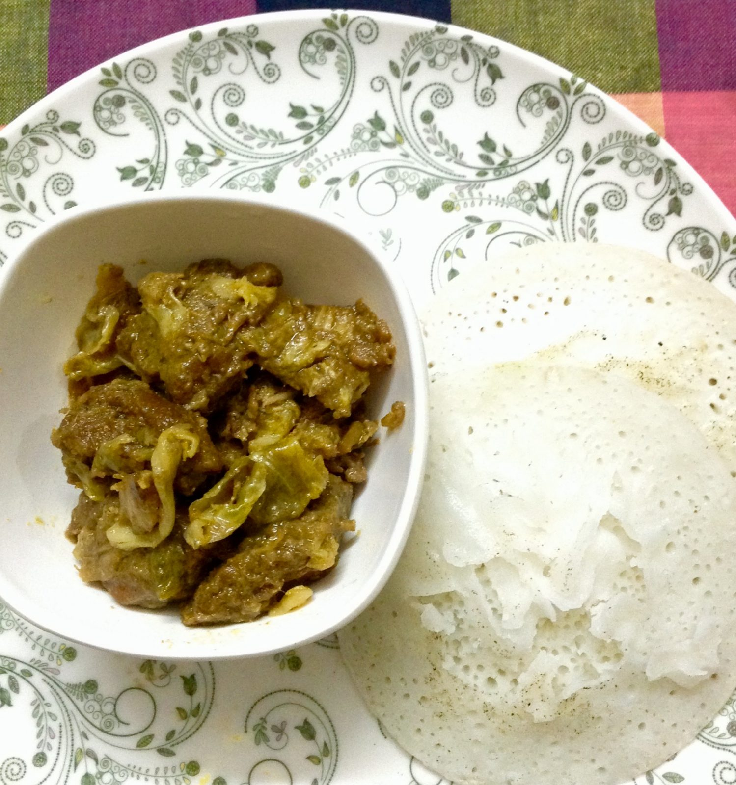 Chhit-ruti with Beef/Chicken from Shelley's Kitchen