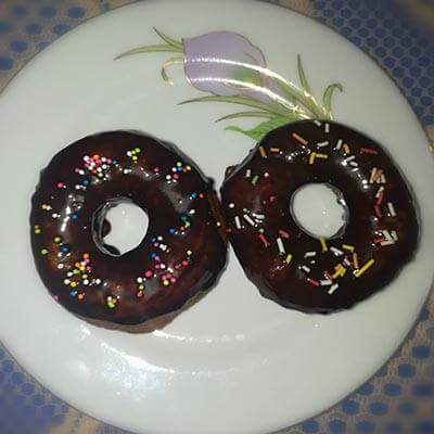 Chocolate Donut from Arisha's Kitchen