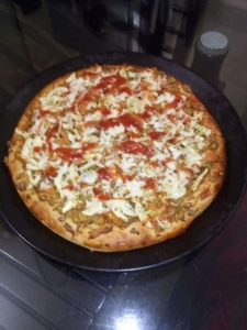 "Pizza - 9"" from Ayesha's Kitchen"