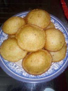 Teler Pitha from Ayesha's Kitchen