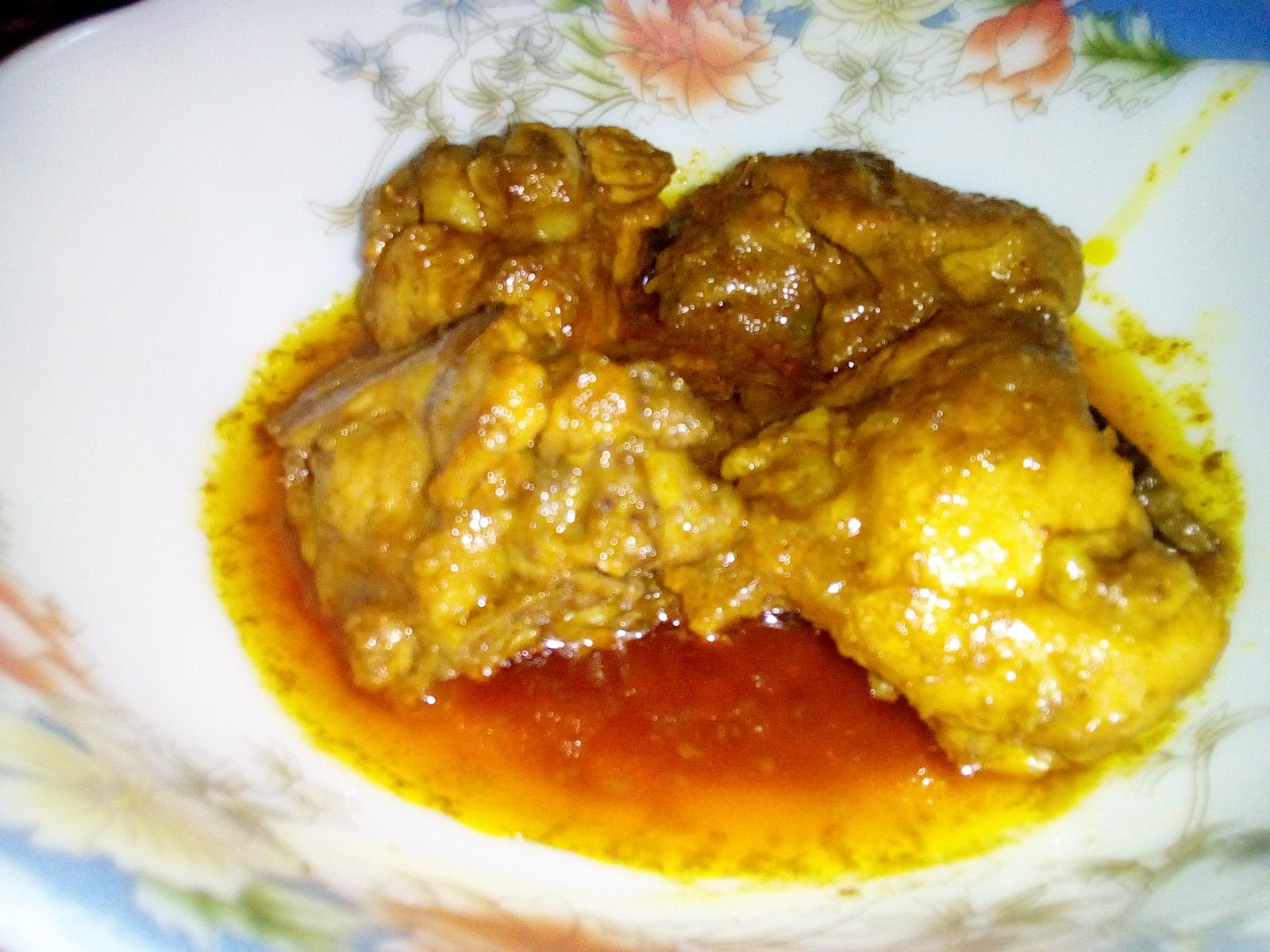 Farm Chicken Vuna from Sompurna Rannaghor