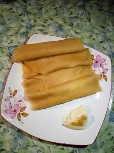 Patishapta from Mom's Dine