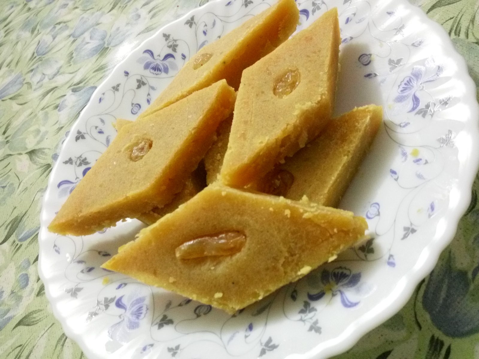 Barfi (Buter Daal) from Mom's Dine