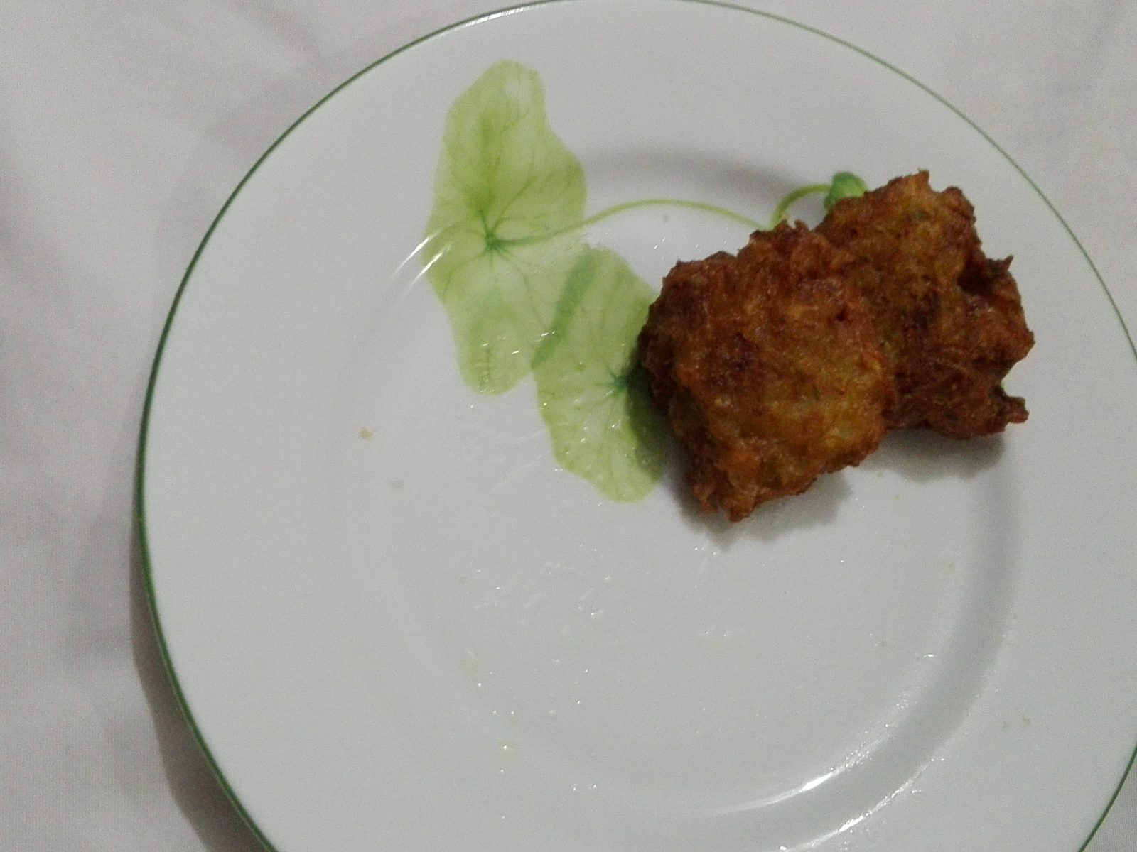 Cabbage Pakora from Mahbuba's Kitchen