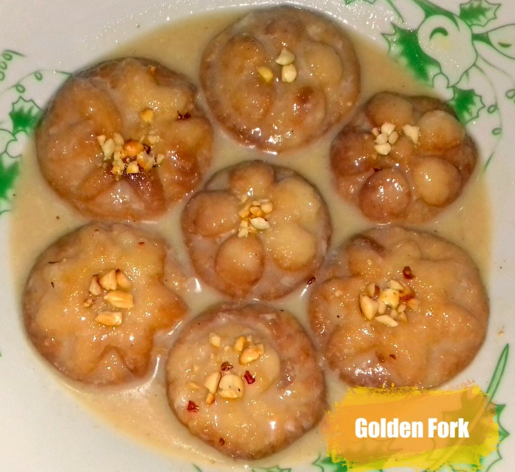 Sacher Pitha (Dudhe Vejano) from Golden Fork
