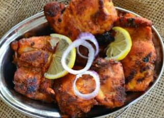 Thandoori/BBQ Chicken from Ayesha's Kitchen