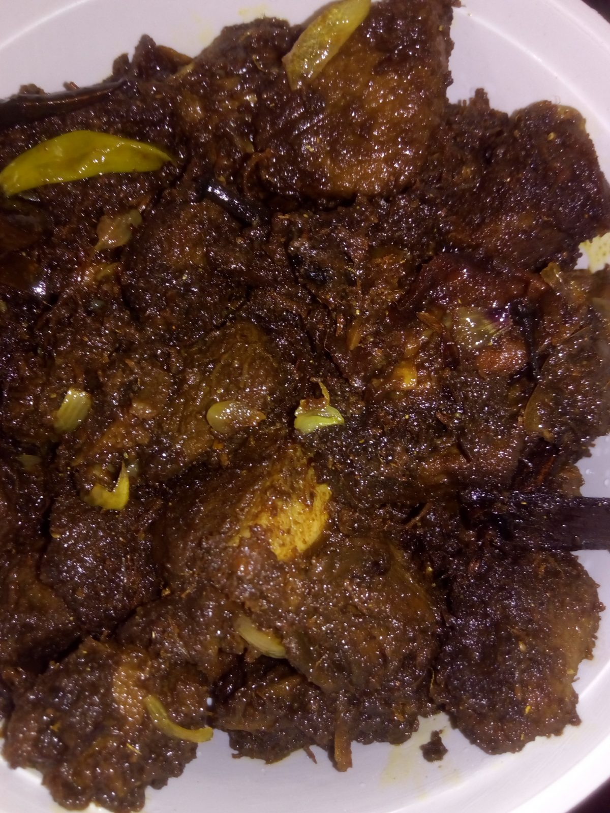 Kala Vuna from Ayesha's Kitchen