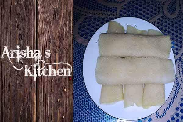Patishapta Pitha (Chini / Gur) from Arisha's Kitchen