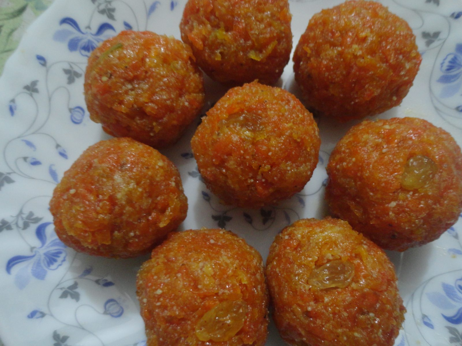 Gajorer Laddu from Mom's Dine