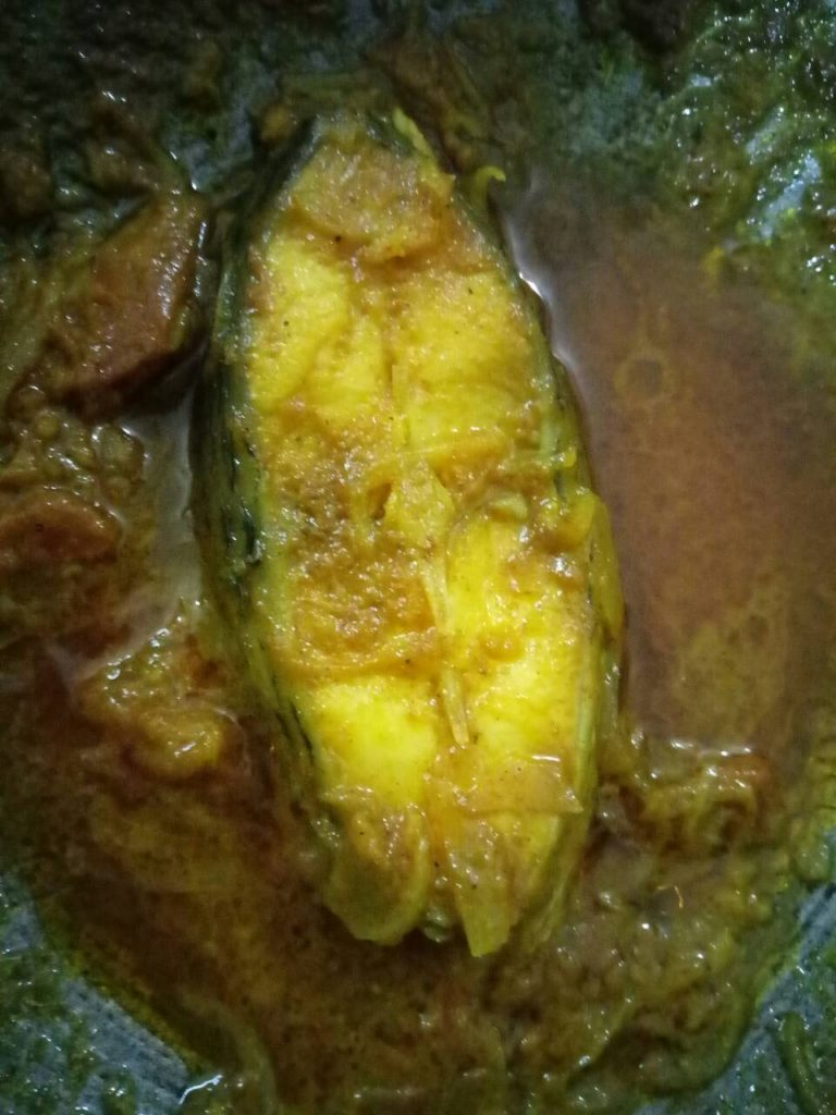 Rice + Rui Fish Curry+ Mixed Vegetable/ Shak/ Vaji+ Dal Vuna from Homemade Food Factory