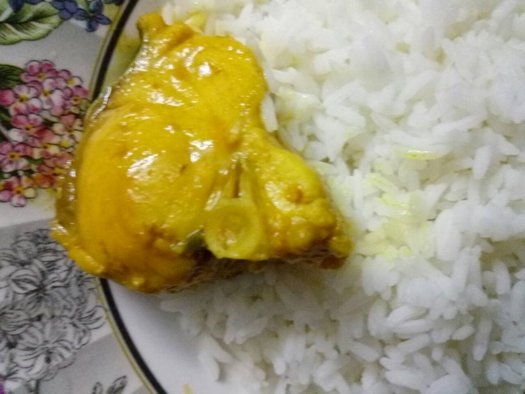 Whole Rui Fish Curry from Homemade Food Factory