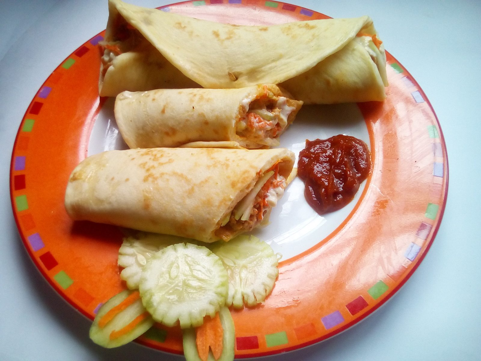 Chicken Shawarma from Sompurna Rannaghor