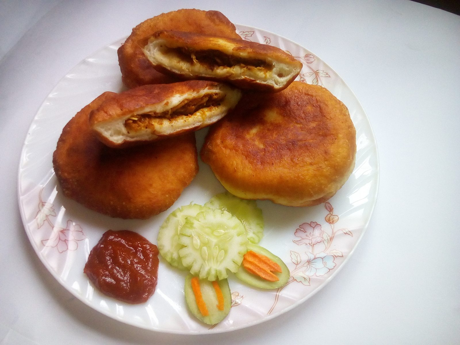 Chicken Bun from Sompurna Rannaghor
