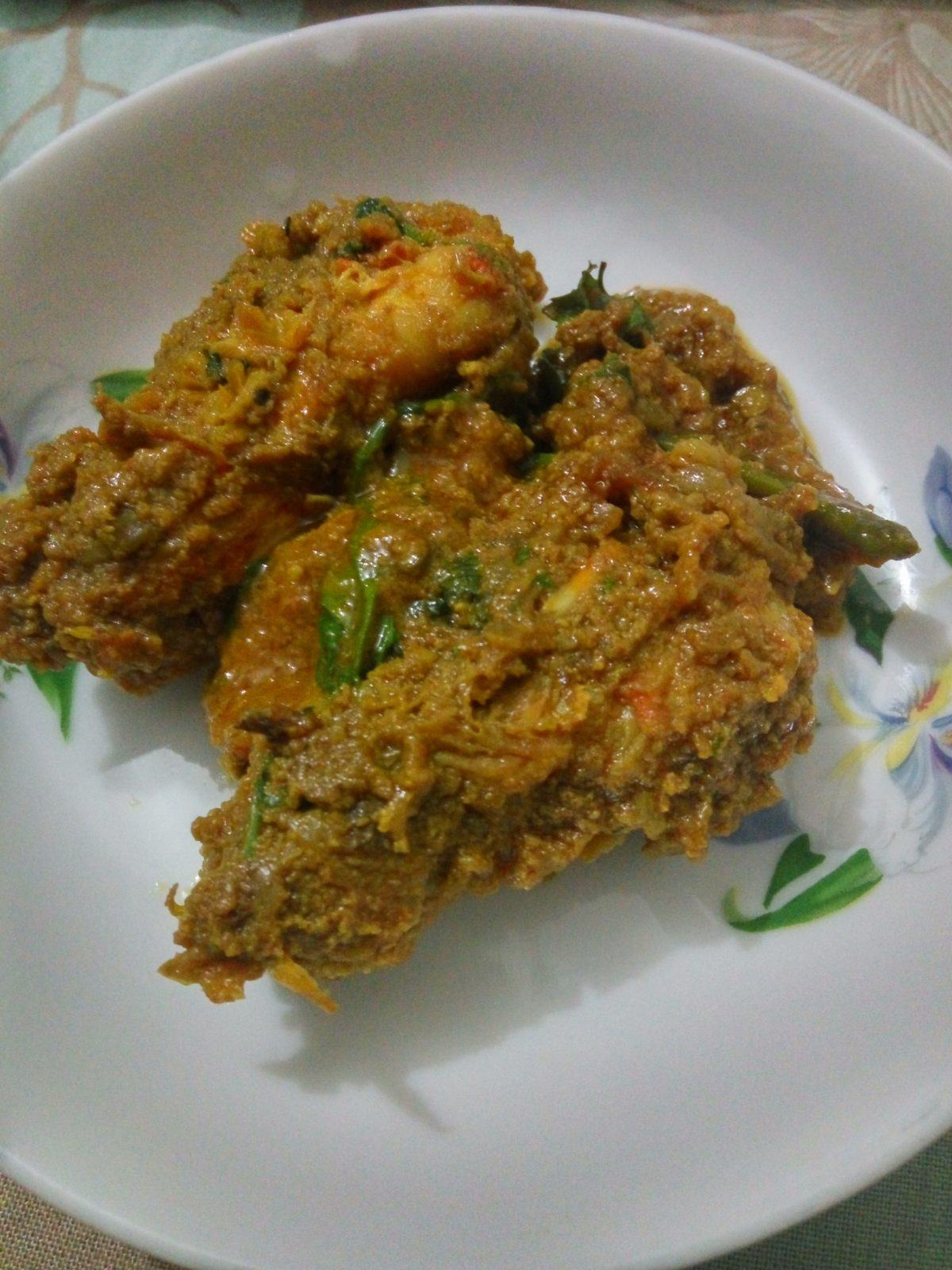 Chingri Malai Kari from Mom's Dine