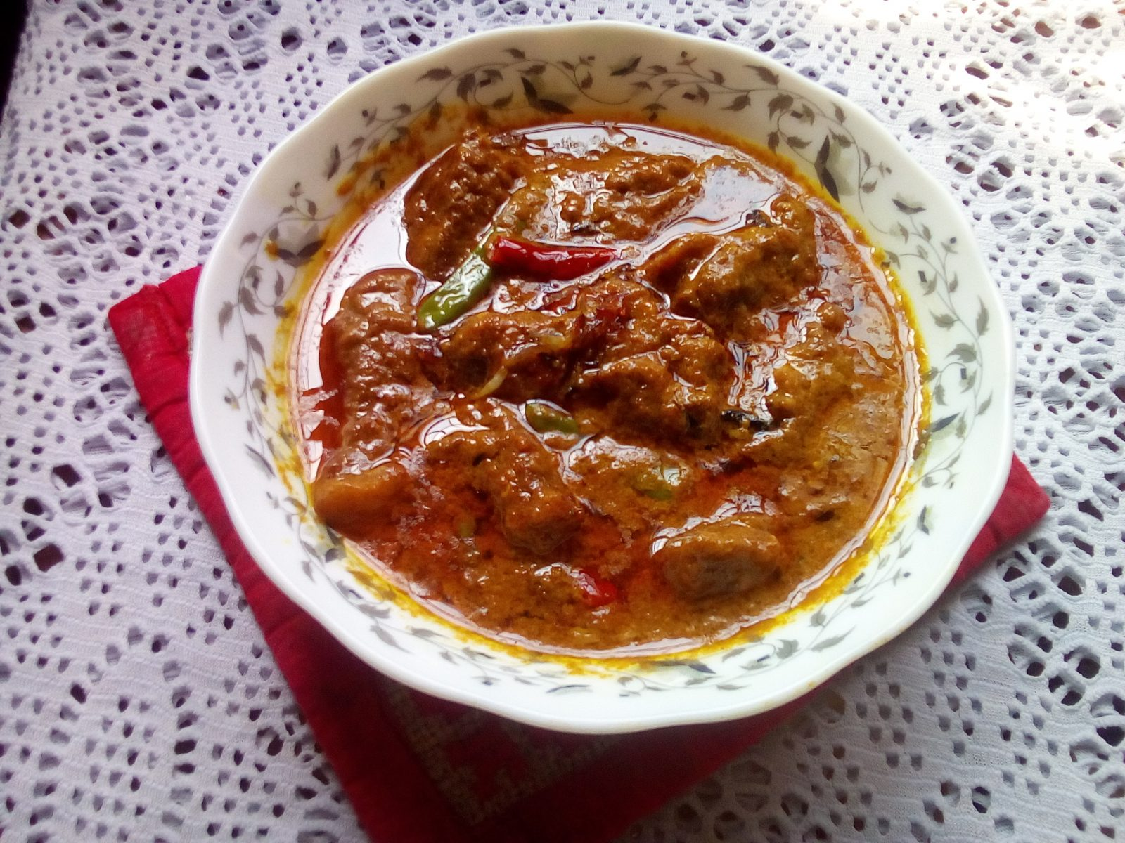 Beef Rezala (chef special) from Sompurna Rannaghor