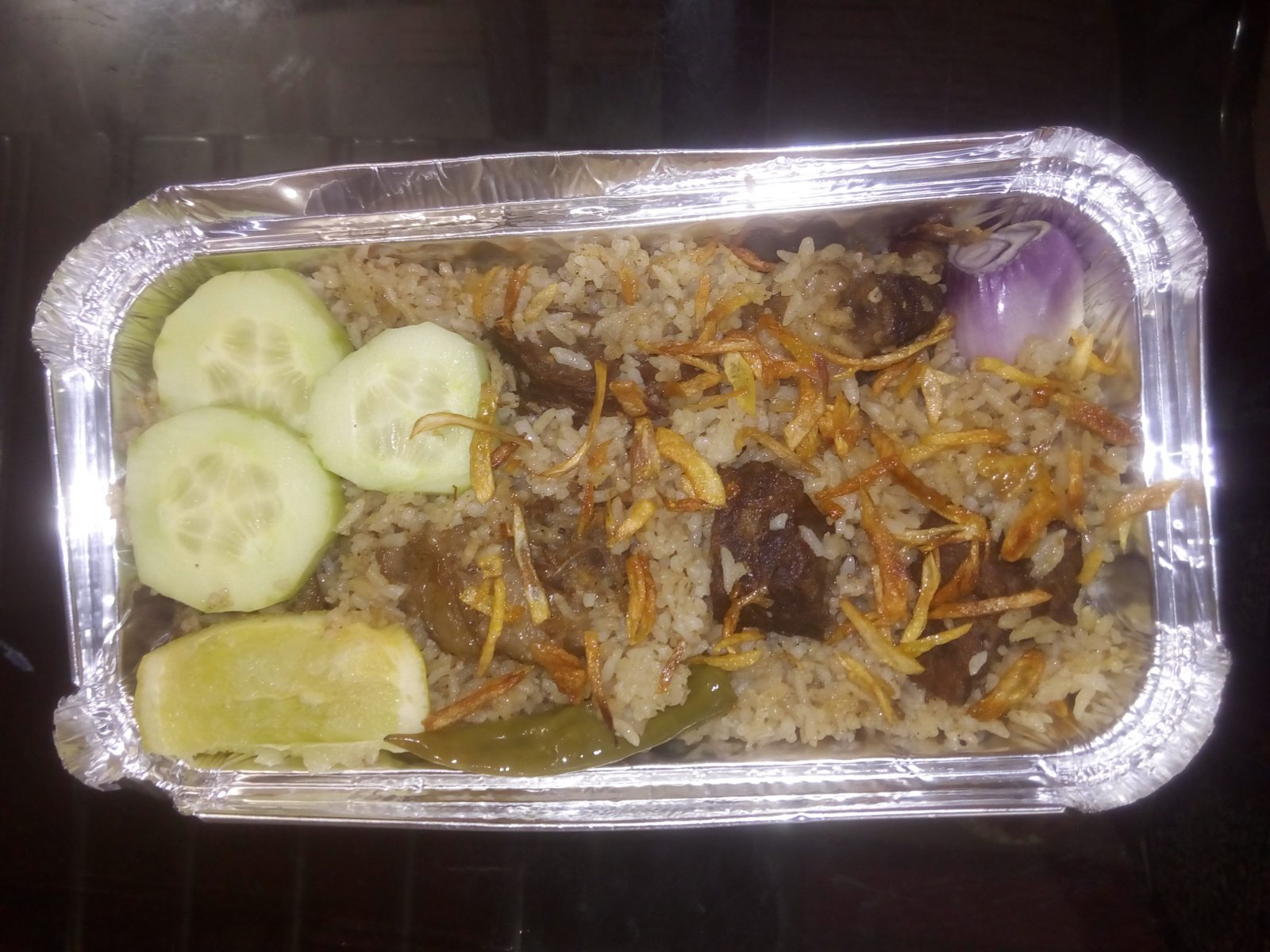 Beef Biryani from Ayesha's Kitchen