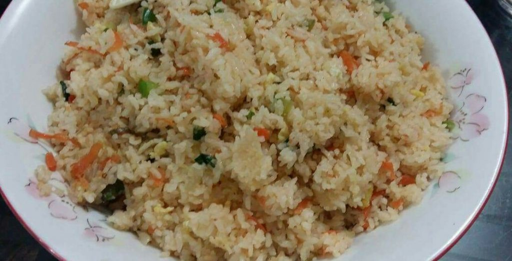 Chinese fried rice. from Ayesha's Kitchen