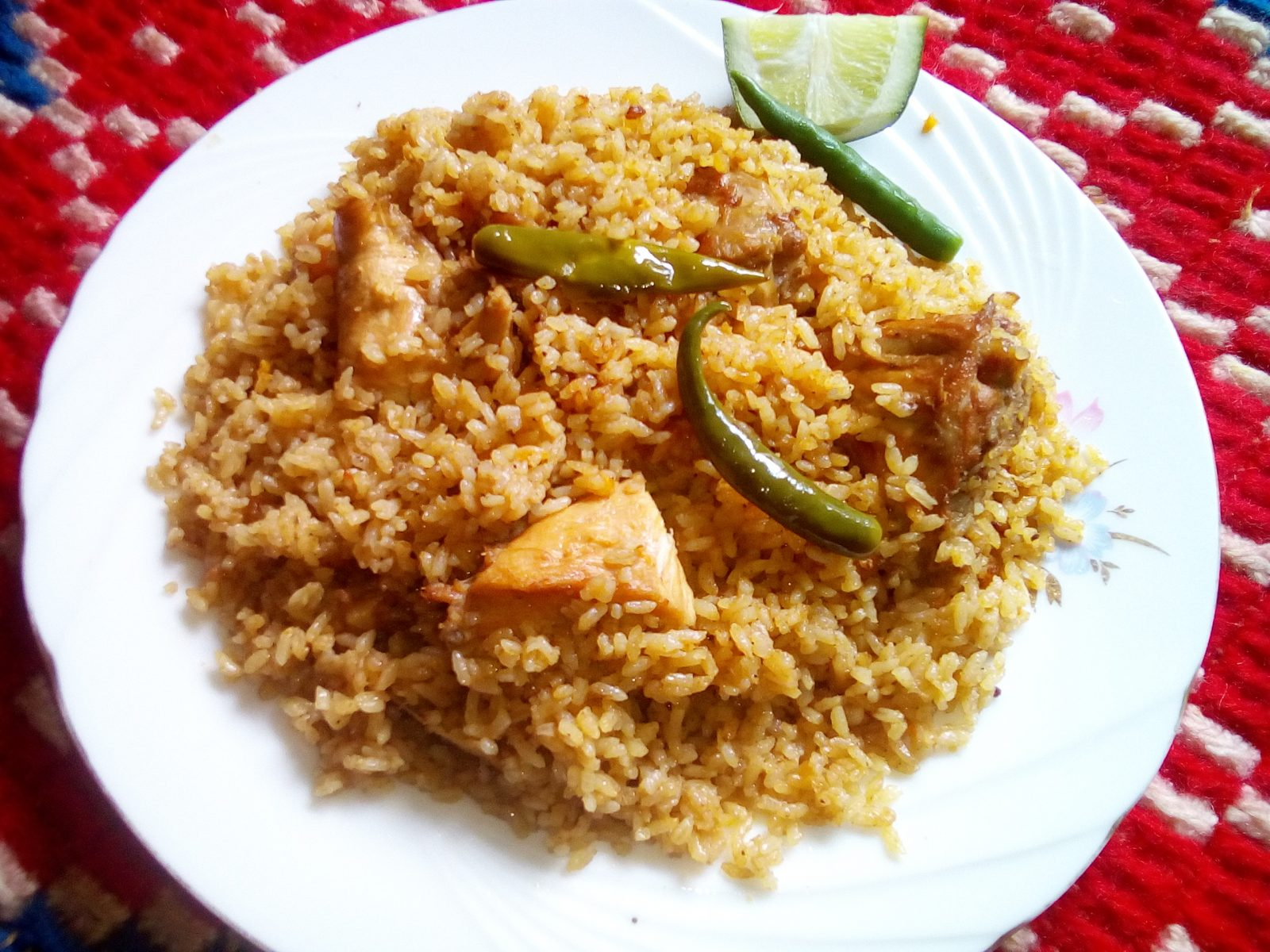 Chicken Tehari Regular from Sompurna Rannaghor