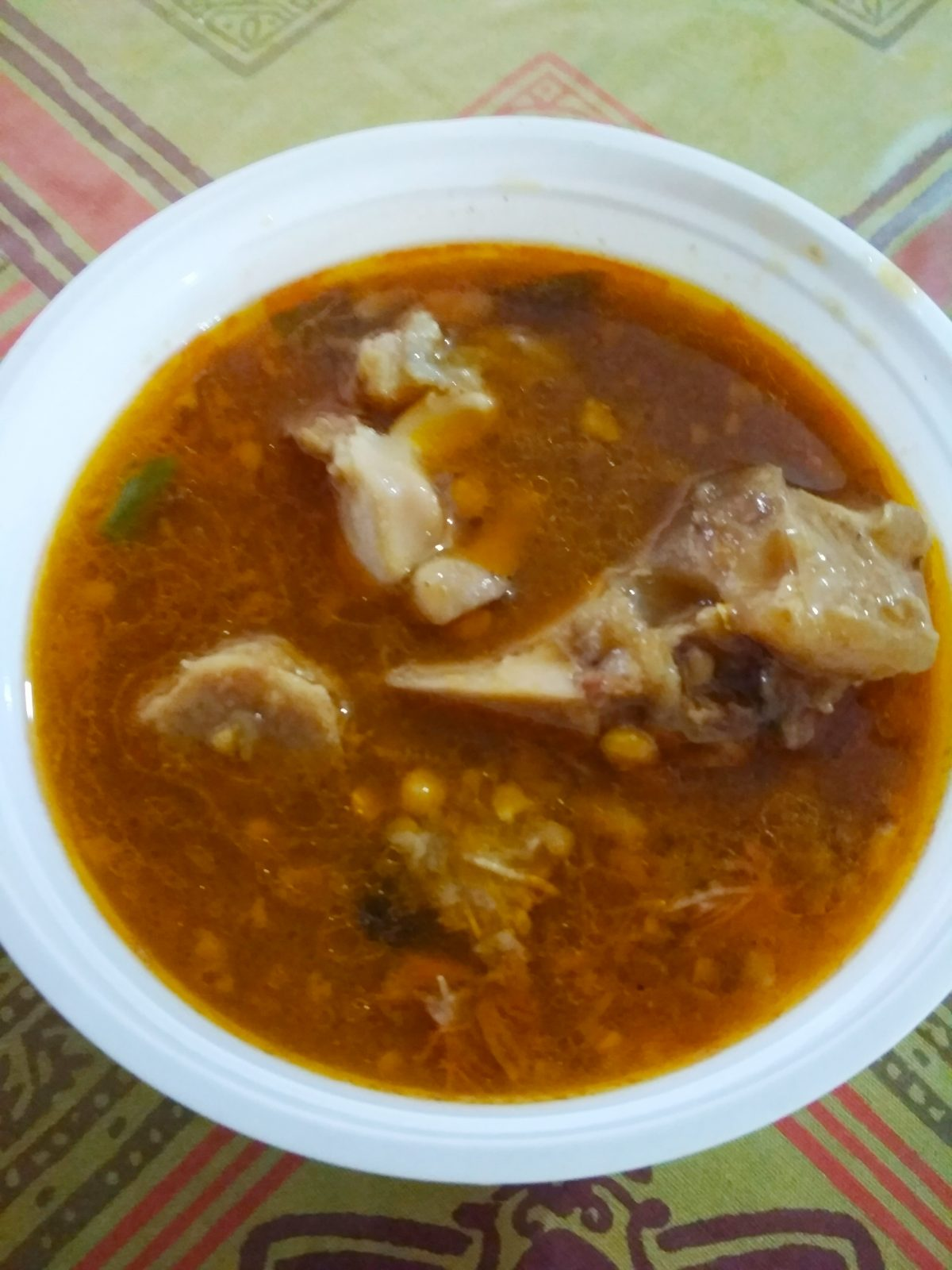 Nihari in Booter Dal + Chaler Ruti from Three Star Kitchen